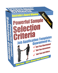 Resume And Selection Criteria Writers