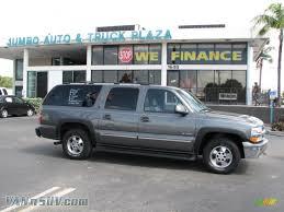 2000 Chevrolet Suburban 1500 LT 4x4 in Medium Charcoal Gray ...