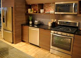 Kitchens With Slate Appliances Whirlpool Says Stainless Is Out Sunset Bronze Is In Reviewed