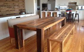 rustic kitchen table with bench. Full Size Of Dining Room Farm Style Table With Bench Rustic Wood And Chairs Kitchen W