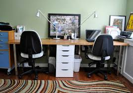 home office plans decor. Wonderful Two Person Desk Home Office In Perfect Plans Design Of Exterior Minimalist For People Decor