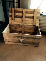 wooden storage boxes diy wooden pallet beefy chest wooden storage boxes diy