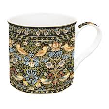 Easy Life Design Coffee Mugs Porcelain Mug 300 Ml In Gift Box Morris Green