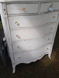 antique serpentine front tall white dresser shackteau interiors milk paint shabby chic tall white dresser h84