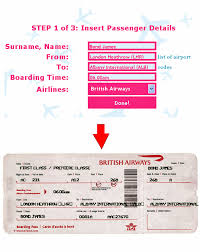 Airline Ticket Template Word Simple TicketOMatic Is The Best Fake Airline Ticket Generator Travel