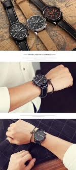 <b>OCHSTIN</b> GQ043B Fashion Leather Strap Men <b>Quartz</b> Watch Luxury ...