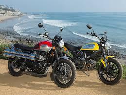 the scrambler has evolved thanks to triumph ducati bmw moto
