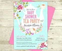 Office Party Invitation Templates Awesome Baby Shower Tea Party Invitations With Invitation Templates Which