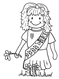 Small Picture 25 Girl Scout Coloring Pages ColoringStar