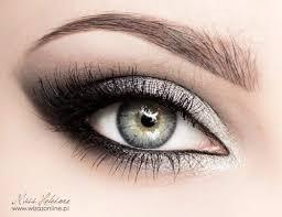 silver metallic eye makeup bmodish