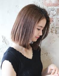 暑い夏にもぴったり涼しげボブtk209 ヘアカタログ髪型