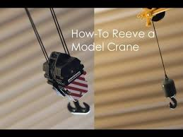 how to reeve a model crane s hook block how to reeve a model crane s hook block