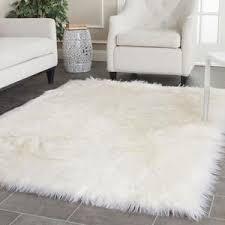 white bedroom rug. Wonderful Bedroom White Faux Fur Rug For White Bedroom Rug R