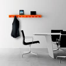 office coat hanger. Wall-mounted Coat Rack / Contemporary Wooden Commercial Office Hanger