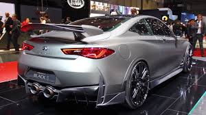 infiniti q60 blacked out. infiniti q60 project black s concept first look 2017 geneva motor show blacked out