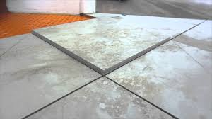easy way to mere and mark ceramic tile for diagonal and diamond pattern cuts