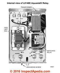 aquastats setting wiring heating system boiler aquastat controls honeywell l8148 series aquastats