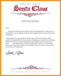 Santa List Template Elf On The Shelf Request Letter From Template Naughty In