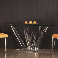sophisticated glass dining room top and base design idea gorgeous table bases for glass tops