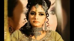eyes glam indian stani bridal makeup tutorial i pink and purple glitter latest