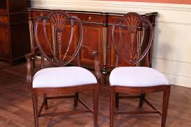 vintage dining room chairs. Sheraton Style Inlaid Dining Chairs For A Formal Room Vintage U