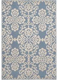 safavieh cottage cot908f light blue beige rug contemporary outdoor rugs by homesquare