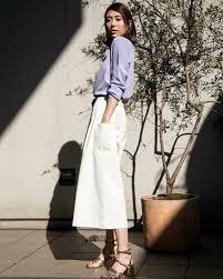 春夏のレディースワイドパンツコーデ20代30代女性の着こなし2019 Suwai