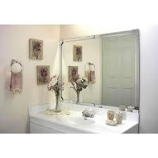 acrylic mirror bathroom decor