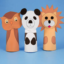 How To Make Paper Cone Finger Puppets Puppets Around The
