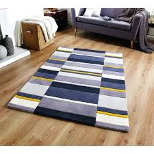 jazz blocks yellow rug wool blue yellow rug hand made in blue yellow rug blue sofa