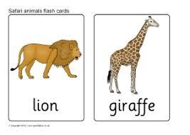 Safari Animals Template Safari Animals Primary Teaching Resources And Printables