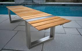 modern design outdoor furniture decorate. Modern Outdoor Patio Furniture Teak Bench Treenovation With Regard To Design 4 Decorate