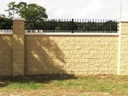 Small Picture Block Walls AFTEC Concrete Fence Forming Systems
