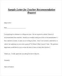 asking for recommendation letter from professor sample examples of recommendation letter