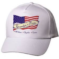 show your pride in america and in your family withi this unique personalized american flag hat our personalized hats are great personalized gifts for