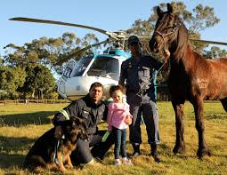 Police join the fun at Country Fair