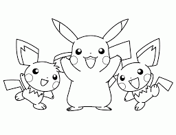 Small Picture Coloring Pages Coloring Book Pokemon Color Pages For Kids