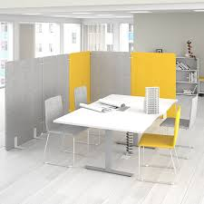 floor mounted office divider countertop polyester acoustic felt free standing