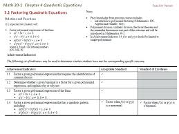 what are quadratic equations used for math math 1 chapter 4 quadratic equations solving quadratic equations