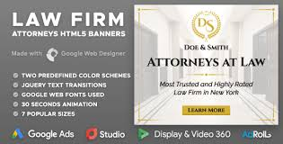 Law Templates Law Firm Attorney At Law Html5 Banner Ad Templates Gwd By Y N