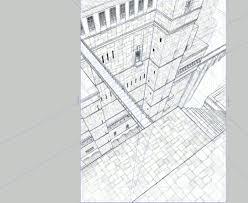 パース定規を使った背景の描き方講座 クリスタで背景の描き方を学ぼう