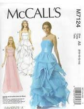Prom Dress Sewing Patterns Extraordinary Buy Prom Dress Sewing Patterns EBay
