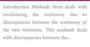 English Explanation Of Mishnah Sanhedrin 5 3