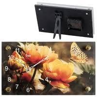 Купить <b>Часы</b>-будильник <b>Perfeo Block</b>, чёрный/красная. по низкой ...
