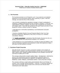 Sample Professional Business Plan 12 Documents In Pdf