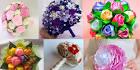 Как сделать букет невесты своими руками из искусственных 71