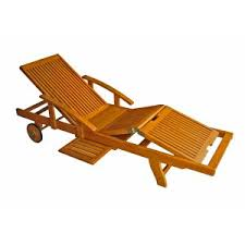 wood lounge chairs. International Caravan Royal Tahiti Wooden Chaise Lounge With Multi Position Deck Wood Chairs