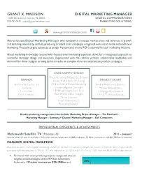 Digital Communications Resume Digital Marketing Specialist Cv Sample Resumes Resume Of A Marketer