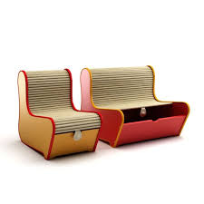 two in one furniture. Two In One Sofa And Storage Unit 3d Model Obj 1 Furniture