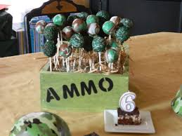 Army Cake Popsi Dont Think I Can Replicate The Marblized Cake Pops